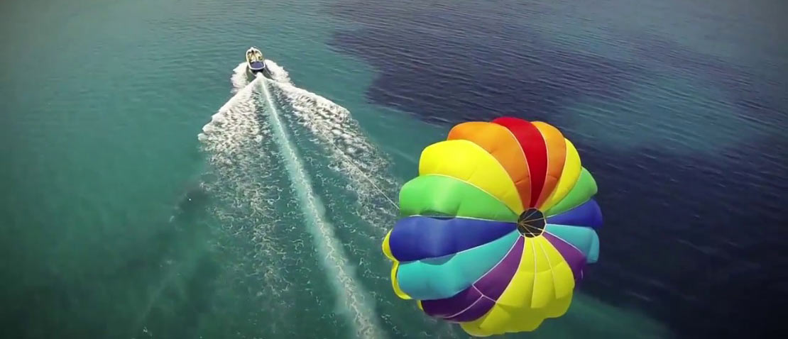 watersports luxury island events