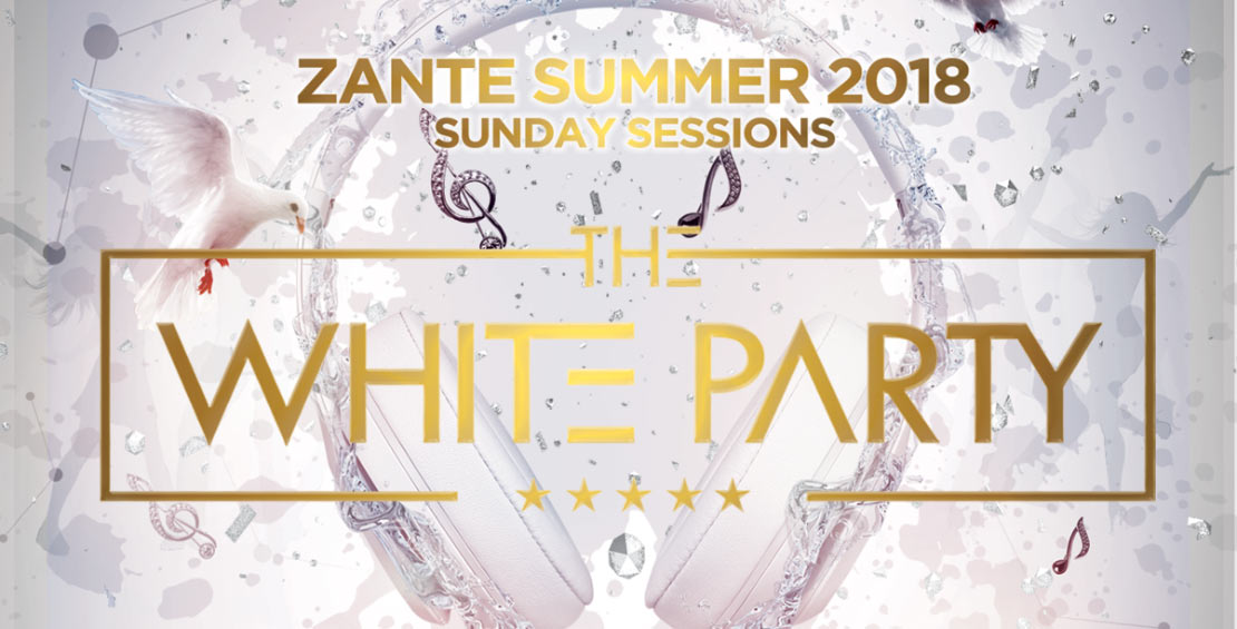 white party luxury island events