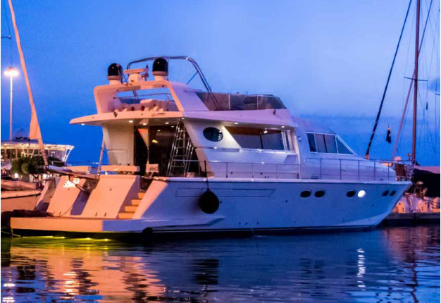 yachting luxury island events